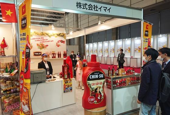 Tương ớt Chin-Su nổi bật tại triển lãm thực phẩm và đồ uống quốc tế Nhật Bản ảnh 1