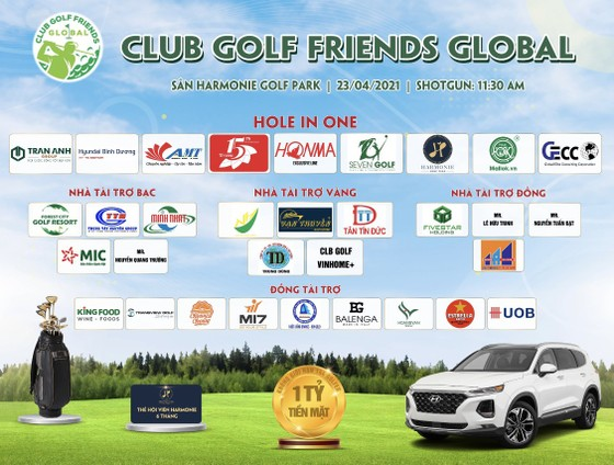 Gần 150 golf thủ tranh tài tại Lễ ra mắt Global Friends Golf Club