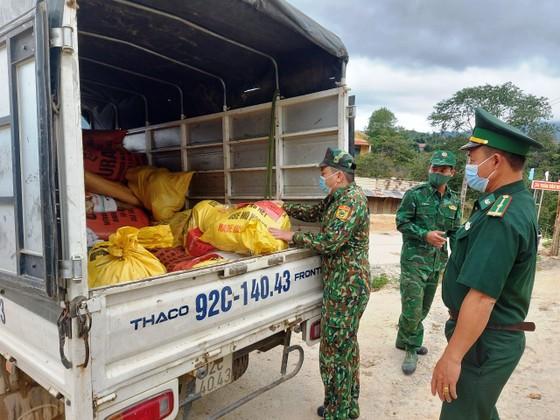 Biên phòng Quảng Nam:  Hơn 1,5 tấn rau, củ, quả gửi tặng người dân TPHCM ảnh 1