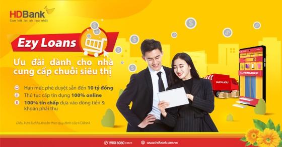 HDBank ưu đãi lãi suất cho nhà cung cấp siêu thị qua chương trình tín dụng 100% online ảnh 1
