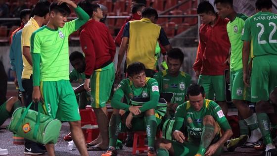 Cần Thơ đang chịu áp lực rất lớn khi bước vào giai đoạn 2 V-League. Ảnh: Minh Hoàng