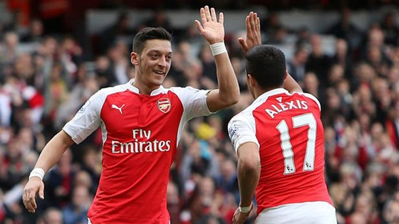 Giữ Alexis Sanchez lẫn Mesut Oezil, Arsenal thâm hụt nặng nề quỹ lương