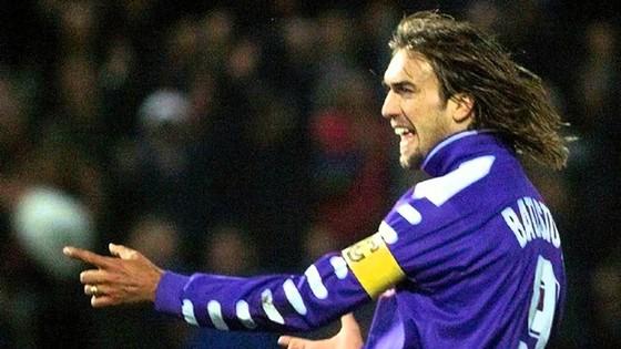 Batistuta trong màu áo Fiorentina