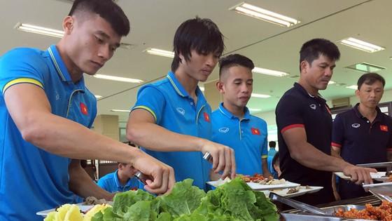 Các tuyển thủ cần được bổ sung dinh dưỡng, ăn đúng yêu cầu để có thể trạng tốt nhất