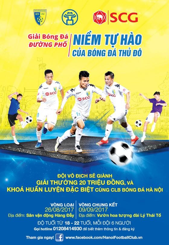 Giải đấu bóng đá đường phố Hà Nội ảnh 1