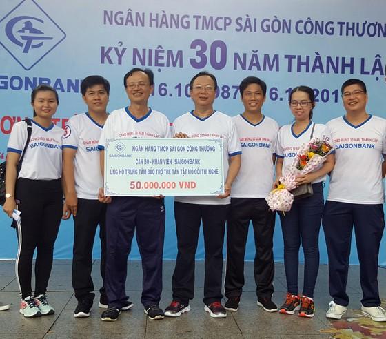 Saigonbank tổ chức đi bộ gây quỹ từ thiện ảnh 1