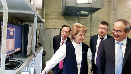 Đoàn đại biểu TPHCM tìm hiểu công nghệ xử lý và cấp nước tại Nga ảnh 3
