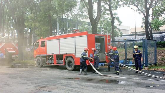 Công ty Vedan Việt Nam tích cực thực tập phương án chữa cháy và cứu nạn cứu hộ ảnh 2