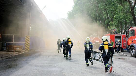 Công ty Vedan Việt Nam tích cực thực tập phương án chữa cháy và cứu nạn cứu hộ ảnh 4