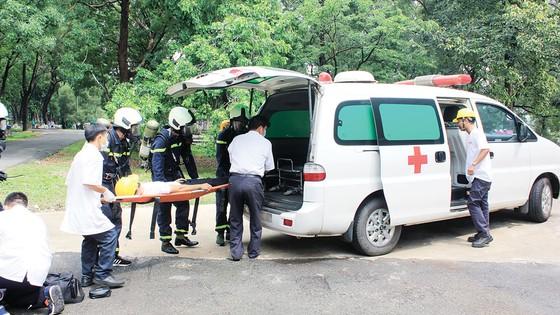 Công ty Vedan Việt Nam tích cực thực tập phương án chữa cháy và cứu nạn cứu hộ ảnh 6