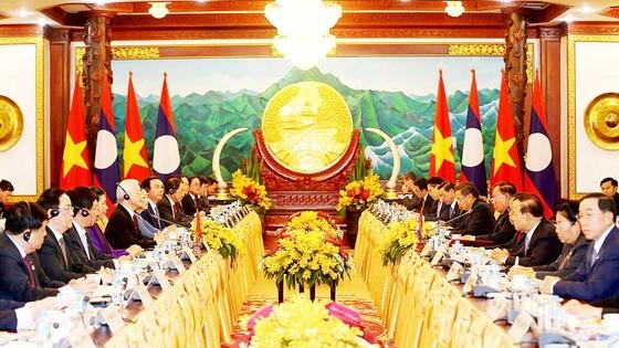 Đẩy mạnh hợp tác toàn diện Việt Nam - Lào ảnh 1