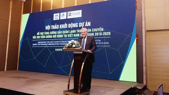 600.000 USD cải thiện công nghệ bảo quản vaccine tại Việt Nam ảnh 3