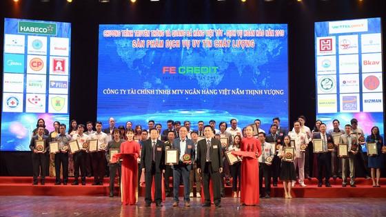 FE CREDIT lọt vào Top 10 Hàng Việt tốt vì quyền lợi người tiêu dùng 2019 ảnh 2