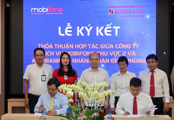 Agribank Chi nhánh Phan Đình Phùng và Mobifone Khu vực 2: Cùng hợp tác hướng tới lợi ích thiết thực ảnh 1