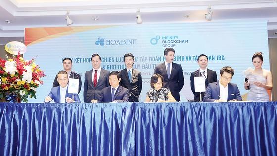Hòa Bình ký kết hợp tác chiến lược với IBG ảnh 1