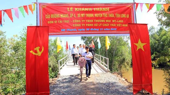 Xây cầu nông thôn hơn 500 triệu đồng tại Long An ảnh 1