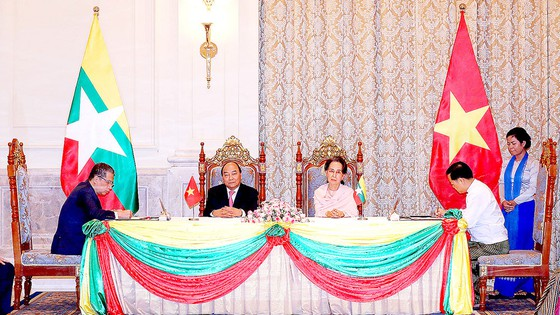 Việt Nam - Myanmar tiếp tục quan hệ Đối tác Hợp tác toàn diện ảnh 1