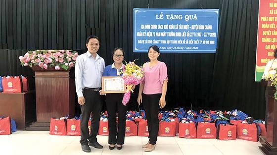 Công ty XSKT TPHCM tổ chức các hoạt động kỷ niệm Ngày Thương binh - Liệt sĩ 27-7 ảnh 2