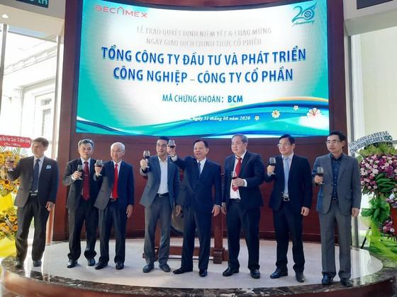 Cổ phiếu Becamex IDC chính thức lên sàn giao dịch chứng khoán TPHCM ảnh 2