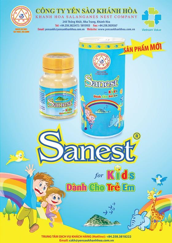Công ty Yến sào Khánh Hòa ra mắt sản phẩm mới: Nước Yến sào Khánh Hòa Sanest dành cho trẻ em đóng lon ảnh 1