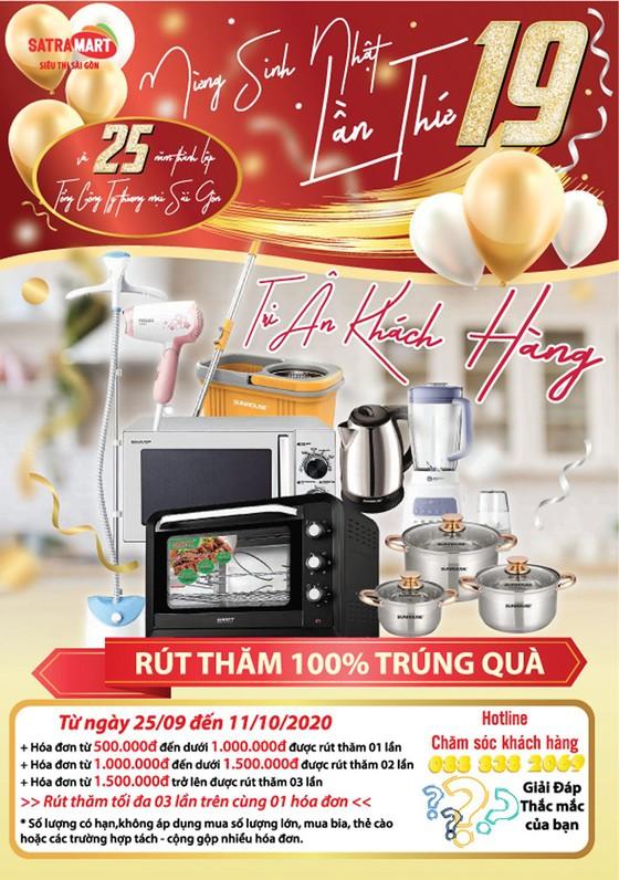 Nhiều chương trình khuyến mãi mừng sinh nhật lần thứ 19 của Siêu thị Sài Gòn ảnh 1
