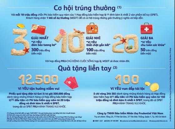 Chiến dịch 'Khi tình yêu đủ lớn' của Prudential cùng chương trình tri ân khách hàng lên đến 12 tỷ đồng ảnh 1