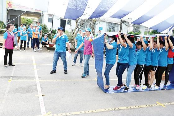 Hội thao chào mừng 90 năm Ngày thành lập Hội Liên hiệp phụ nữ Việt Nam và 42 năm Ngày thành lập Công ty XSKT thành phố Hồ Chí Minh ảnh 4
