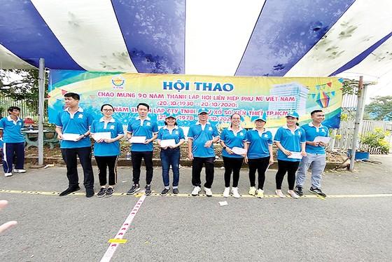 Hội thao chào mừng 90 năm Ngày thành lập Hội Liên hiệp phụ nữ Việt Nam và 42 năm Ngày thành lập Công ty XSKT thành phố Hồ Chí Minh ảnh 6