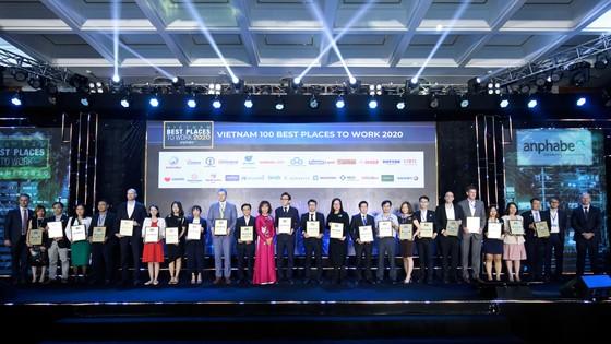 Tập đoàn Xây dựng Hòa Bình nhận giải Doanh nghiệp xuất sắc Châu Á và 100 Nơi làm việc tốt nhất 2020 ảnh 1