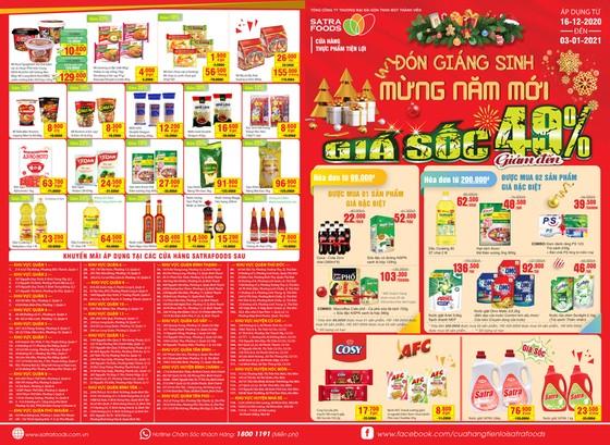 Hệ thống bán lẻ SATRA khuyến mại 'Đón giáng sinh - Mừng năm mới 2021' ảnh 1