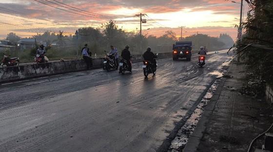 Đường trơn trượt gây tai nạn nhiều năm vẫn chưa xử lý ảnh 5