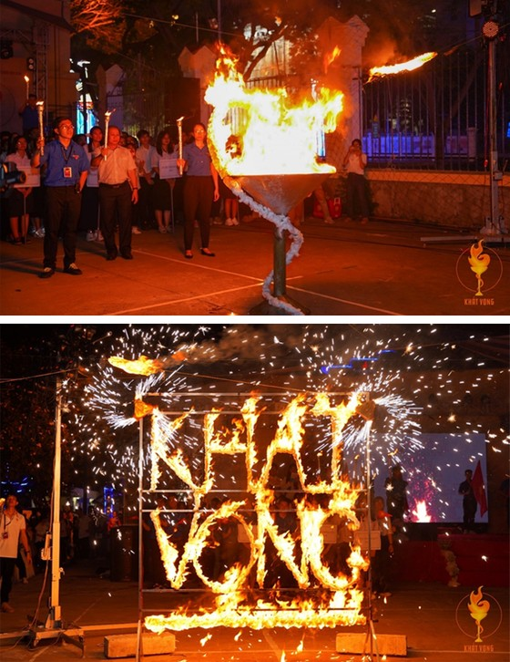 Hội trại Dược Khoa 2021: Ngọn lửa khát vọng cháy mãi, sáng mãi ảnh 4