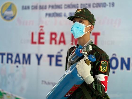 Ngày đầu tiên cán bộ, chiến sĩ xuất quân phòng, chống dịch trên địa bàn TPHCM ảnh 14