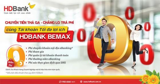 HDBank tiếp tục miễn nhiều loại phí giao dịch trực tuyến với BeMax ảnh 2