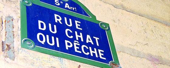 Lịch sử Paris qua biển đường, tên phố ảnh 1