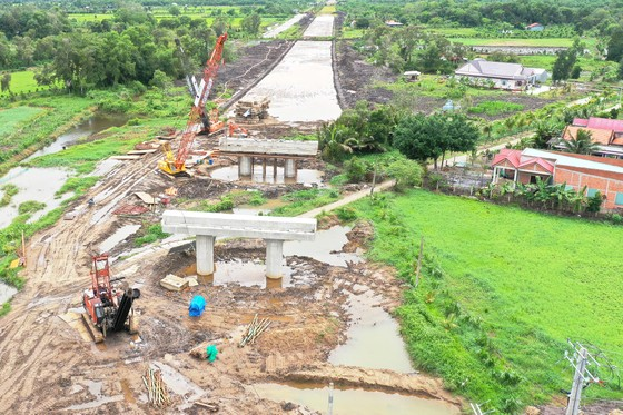 Dự án cao tốc Trung Lương - Mỹ Thuận: Ngóng tiền ảnh 1