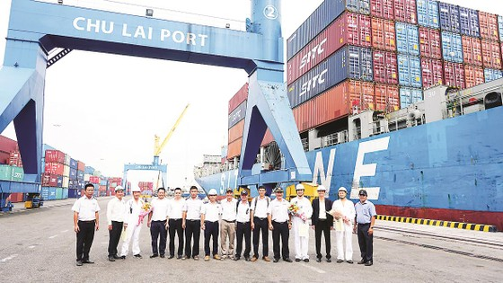 Cảng Chu Lai đón tàu container tải trọng lớn nhất từ trước đến nay ảnh 1