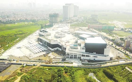 Tiến độ dự án Aeon Mall Hà Đông: Hoàn thiện hạng mục quan trọng Big Canopy ảnh 2