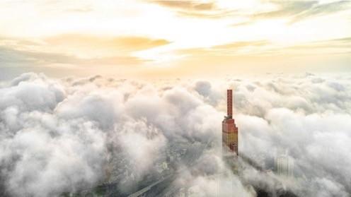 'Nụ cười Việt Nam' tỏa sáng trên tháp Landmark 81 truyền đi thông điệp hòa bình ảnh 4
