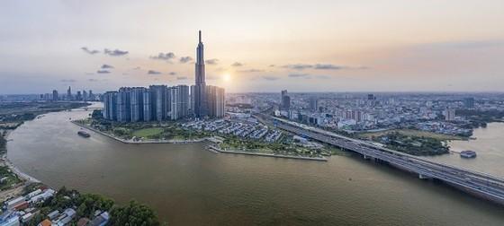 'Nụ cười Việt Nam' tỏa sáng trên tháp Landmark 81 truyền đi thông điệp hòa bình ảnh 5