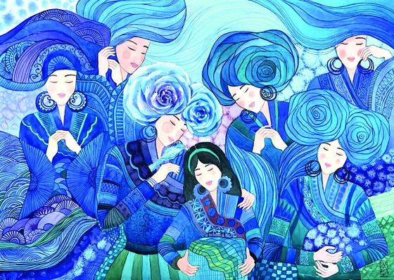 Họa sĩ Hà Hùng Dũng: Vẽ như mình hít thở mỗi ngày ảnh 2