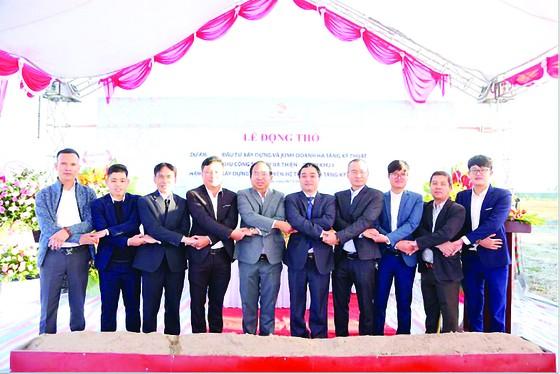 Công ty CP và Phát triển và Kinh doanh nhà (HDTC): Khởi công Dự án đầu tư xây dựng và kinh doanh hạ tầng kỹ thuật khu công nghiệp Bá Thiện ảnh 2