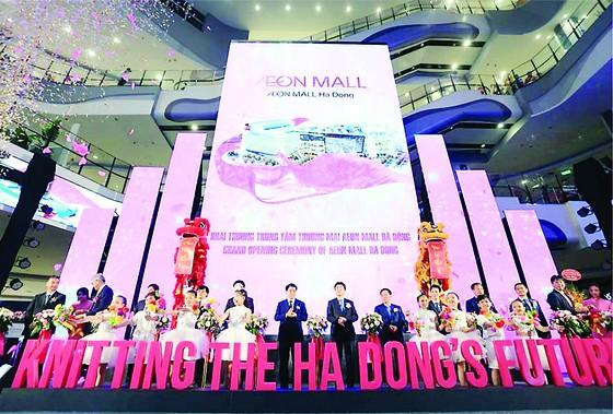 Liên danh Kajima - Hòa Bình bàn giao dự án Aeon Mall Hà Đông vượt tiến độ ảnh 1