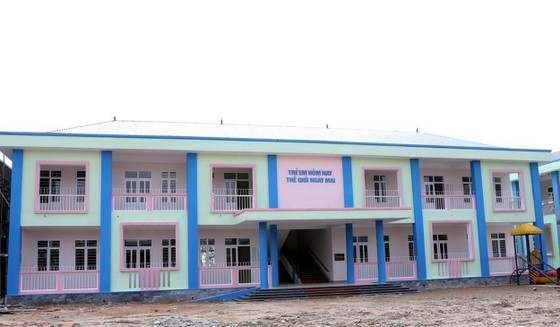 PV GAS tài trợ xây dựng 2 trường mầm non tại Nghệ An và Hà Tĩnh ảnh 1