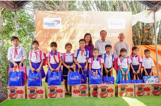 Masan Consumer đồng hành cùng chương trình 'Kiến tạo nhịp cầu' khánh thành cầu Khang Phúc ảnh 3