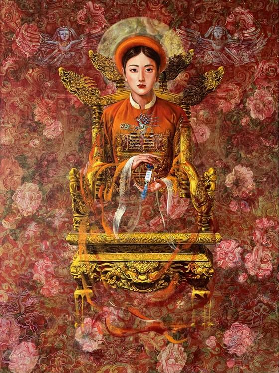 Họa sĩ Nguyễn Minh Nam: Hội họa phải đem đến cái đẹp cho con người và cuộc sốngf ảnh 1