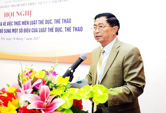GS-TS Dương Nghiệp Chí: Cả đời mơ cải thiện tầm vóc người Việt ảnh 1