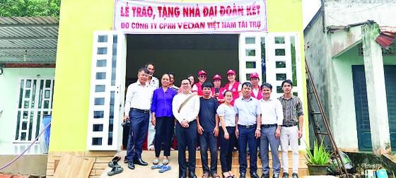 Vedan Việt Nam trao tặng 4 căn nhà cho các hộ gia đình có hoàn cảnh khó khăn tại tỉnh Đồng Nai ảnh 2