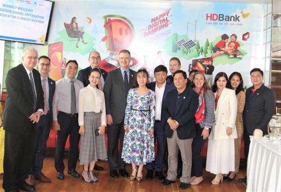 Đại sứ Hoa Kỳ thăm và làm việc với HDBank, Vietjet ảnh 6