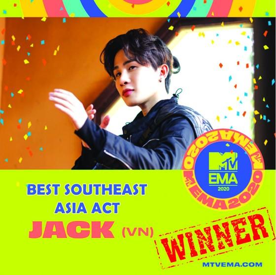 Jack - Nghệ sĩ Việt đầu tiên giành cúp danh giá của giải thưởng Truyền hình châu Á ATA 25th ảnh 2